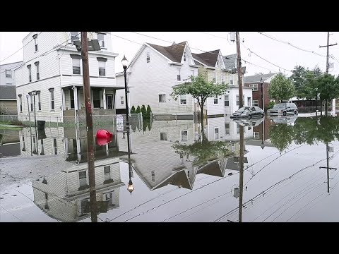 Severe storms containing heavy rains and strong winds spurred flooding across New Jersey, disrupting travel and damaging some property. The storms started Wednesday night and continued for several hours through early Thursday. (June 20)