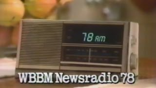 1987 WBBM Newsradio 78 commercial - CHICAGO TV