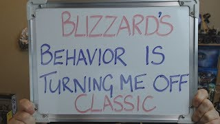 AZCHATS #86: BLIZZARD'S Behaviour is Turning Me Off  CLASSIC !!