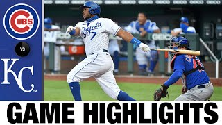 6-run 3rd inning propels Royals to victory | Cubs-Royals Game Highlights 8/6/20