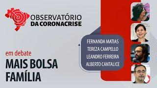 #AOVIVO | Mais Bolsa Família – Observatório da Coronacrise