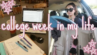 COLLEGE WEEK IN MY LIFE: Finals Week, Flying To An Office Visit, Packing Up My Apartment