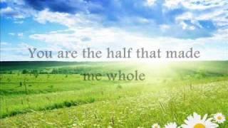 Jim Brickman - The love I found in you (lyrics)