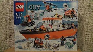 preview picture of video 'LEGO City 60062 Arktyczny lodołamacz'