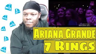 Ariana Grande - 7 Rings | Billboard Music Awards / 2019 | REACTION