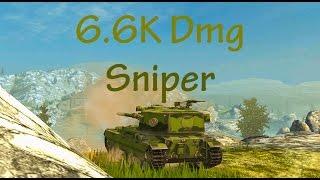 FV 215b 183 (DS) - 6.6K Dmg - Sniper