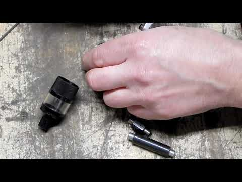 Brown & Sharpe micrometer repair Part 1
