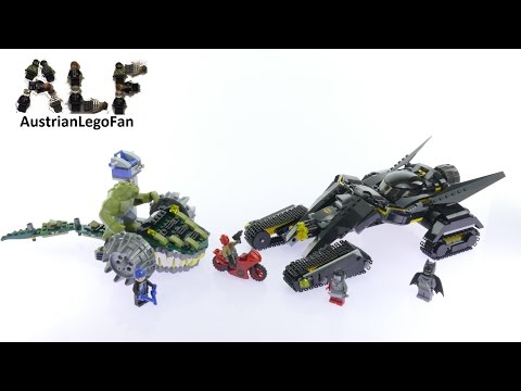 Vidéo LEGO DC Comics 76055 : Batman : choc dans les égouts avec Killer Croc