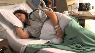 Cesarean recovery in the hospital