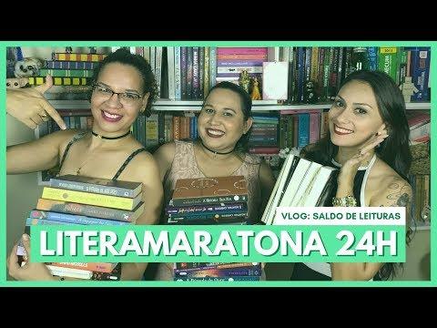 VLOG LITERAMARATONA 24H DE  NIVER I LITERAMIGAS