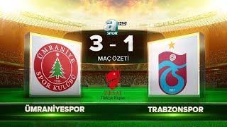 Ümraniyespor 3-1 Trabzonspor   Maç Özeti