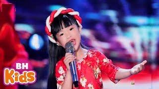 Tết Tết Tết Đến Rồi ♫ Bé Chúc Tết ♫ Nhạc Tết Thiếu Nhi Sôi Động 2020 - Bé Mai Vy, Bé Candy Ngọc Hà
