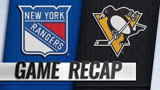 Malkin, Letang lift Penguins past Rangers in 6-5 win