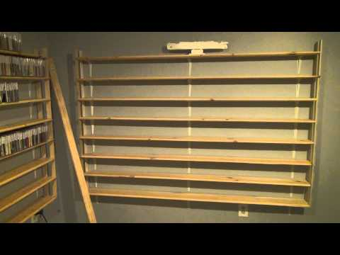 New Inventory System for Amazon CDs, New Shelves, & A Little Bit About Efficiency Overall