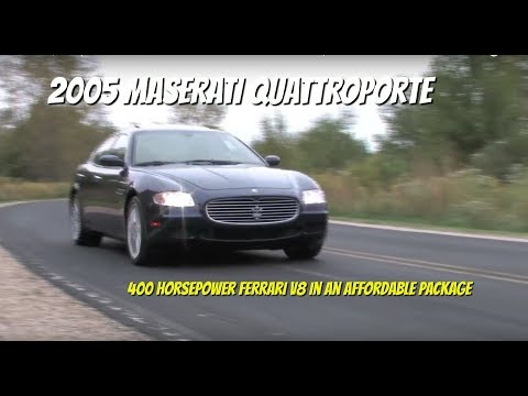 Maserati Quattroporte Test Drive Video Review