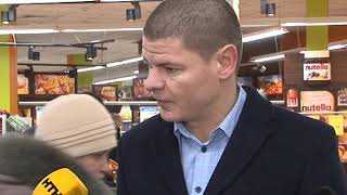 У супермаркеті застрелили чоловіка