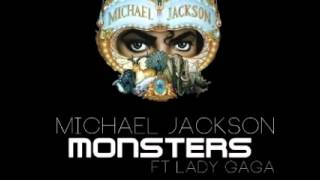 Michael Jackson Monsters Ft Lady Gaga Audio Only