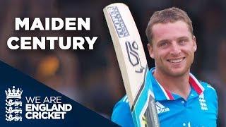 Jos Buttler Hits Record-Breaking Maiden Century in ODIs | England v Sri Lanka 2014 - Highlights