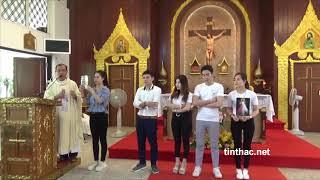 Thánh lễ tại Thái Lan, ngày 20.11.2019. Cha long