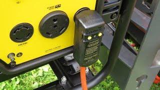 A GFCI Plug Will Not Work With My Champion 3650 Watt Generator
