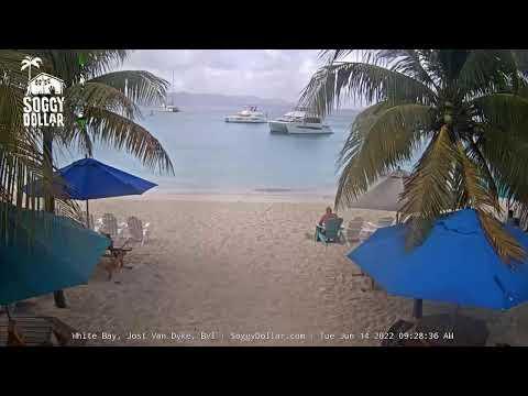 Soggy Dollar Bar Live Webcam - Jost Van Dyke, British Virgin Islands
