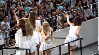 소녀시대 kissing you SMTOWN in SEOUL 140815 girls'generation 少女時代