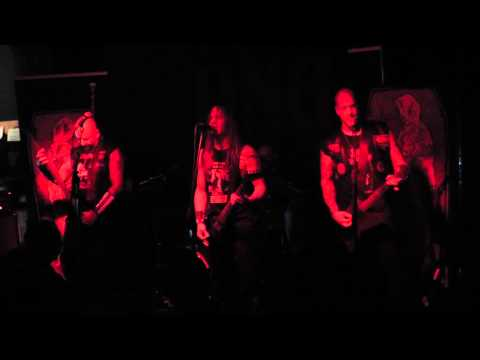 Deathronation - Realm of Shadows Live @ DNA, Brussels, BE (06.11.2013)