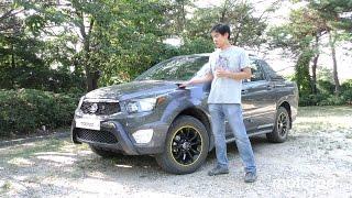 [모터피디] 코란도 스포츠 2.2! 4WD 시승기