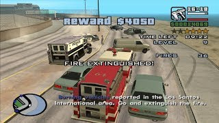 GTA San Andreas - How to do the Firefighter Mission at the very beginning of the game
