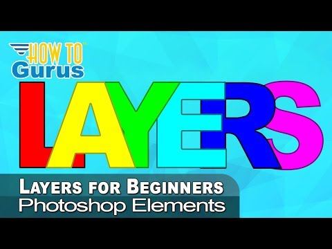 How To Use Photoshop Elements Layers for Beginners - 2021 2020 ...