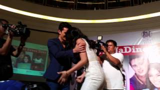 James Reid & Nadine Lustre Kissed In A Mall Show?
