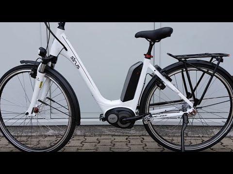 Sinus Tria N7 400Wh Elektro Fahrrad City Bosch eBike 2017