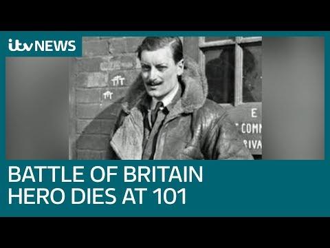 Battle of Britain hero Maurice Mounsdon dies, aged 101 | ITV News