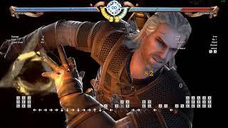 SC6 Geralt Yden combo