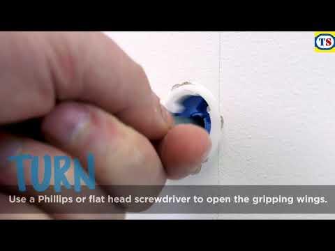 GripIt Plasterboard Fixing Kit