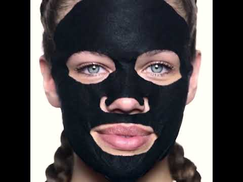 Charcoal  Fiber Mask - Pore Minimizer