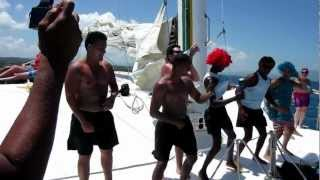 preview picture of video 'Party at Catamaran- Sosua Dominican Republic'