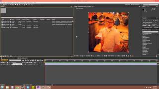 After Effects CS6 Tutorial - 4 - Project Panel and Importing Footage