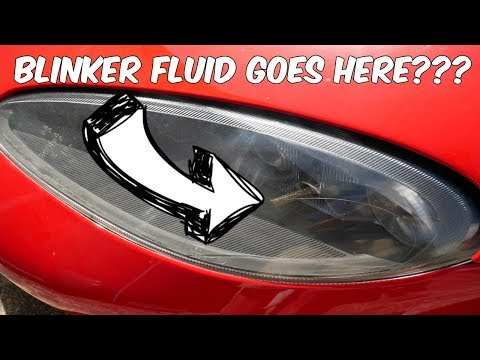 A Dodge Viper Actually Uses Blinker Fluid???