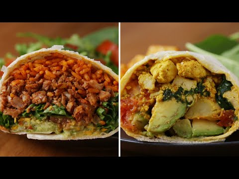 How To Make A Meatless Burrito