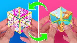 Tetraflexagon DIY is a New Fidget Spinner