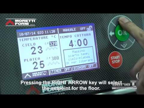 video 1, Four convoyeur Elect. Tapis 81 cm 48-125 pizzas/heure