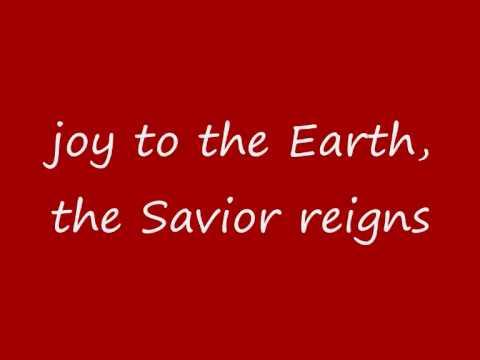 Mariah Carey - Joy To The World (lyrics on screen)
