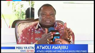 Atwoli amjibu Wetangula kuhusu mkutano wa jamii ya Magharibi itayoandaliwa Januari