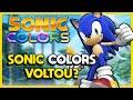 Sonic Colors Remasterizado O Novo Jogo Vazado