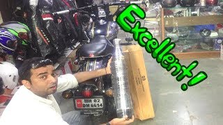 Must Watch All The Accessories For Royal Enfield Bikes With Pricing To Modify | Bazooka Silencer |