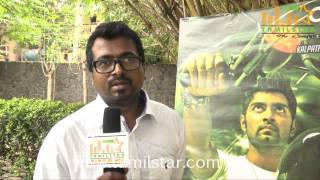 Director Yuvaraj Bose at Irumbu Kuthirai Movie Press Meet