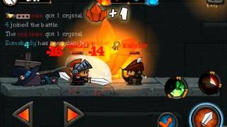 Random iOS Gameplay Presents | Oh My Heroes! - Crystal Mine Control