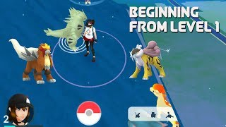 Download Youtube: From level 1  catching legendary dogs [Pokemon Go New Raid Boss]