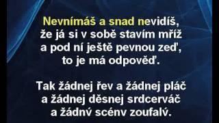 Lucie Bílá - Esemes (karaoke z www.karaoke-zabava.cz)